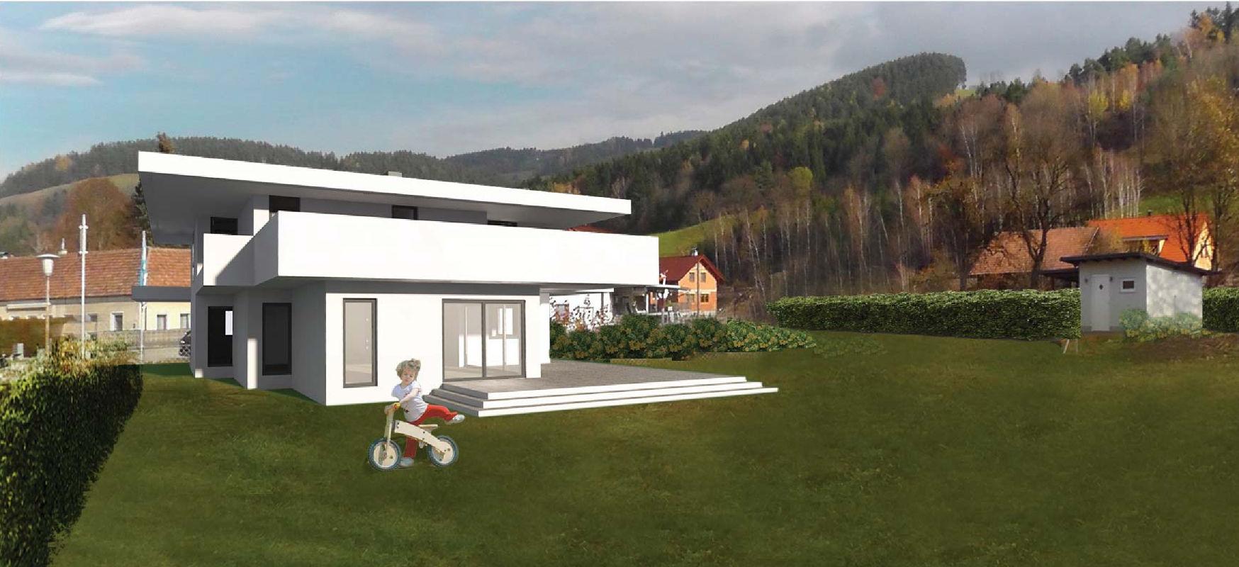 Haus T Entwurf